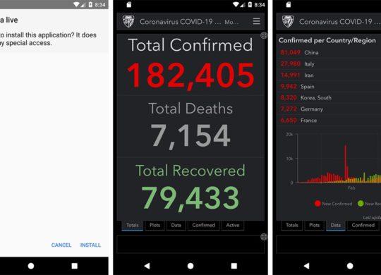 screenshot app cheval de troie