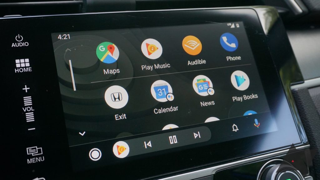 Android Auto Nouvelle Interface 1024x576