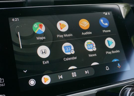 Android Auto Nouvelle Interface