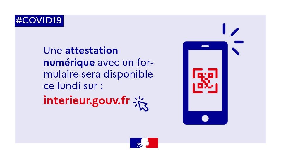 Attestation De Deplacement Derogatoire Smartphone