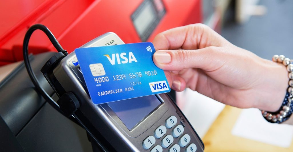 Carte Bancare Visa Paiement Sans Contact 1024x533