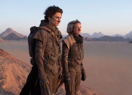 Film Dune avec Timothée Chalamet