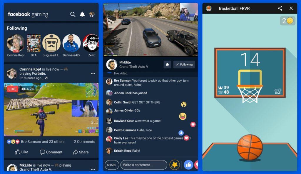 Facebook Gaming Application 1024x592