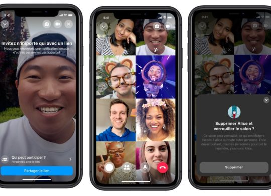Facebook Messenger Rooms Appels Video