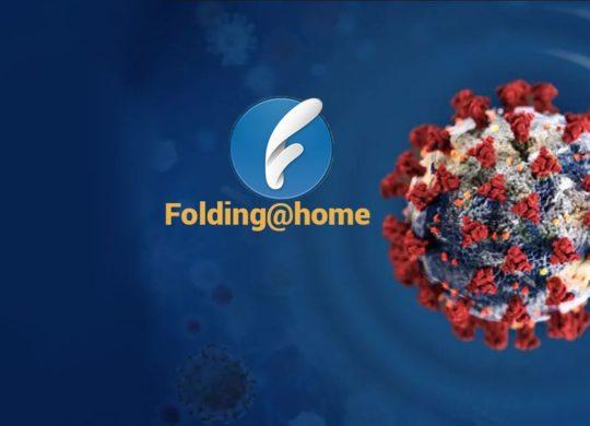 Foldinghome coronavirus