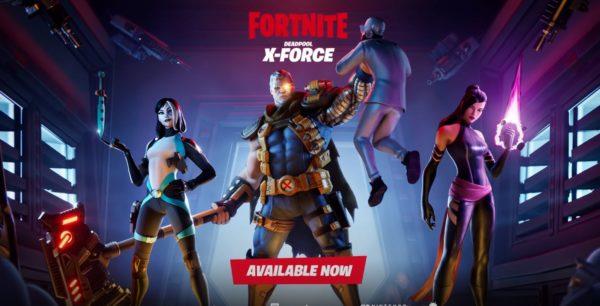 Fortnite Deadpool X Force 600x306