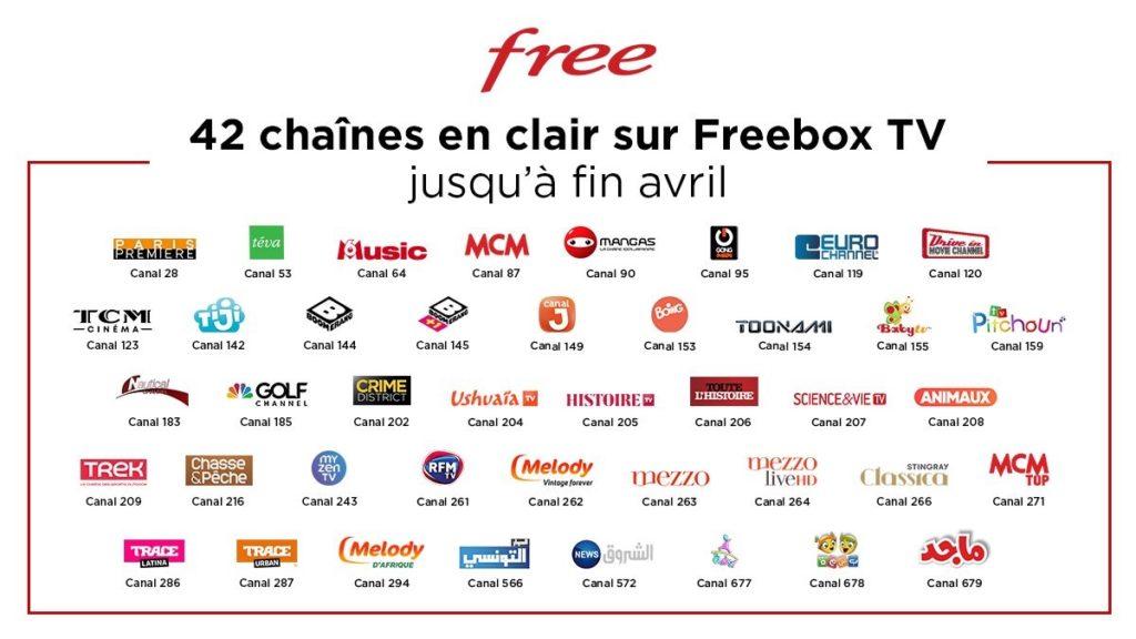 Free 42 Chaines Gratuites Confinement 1024x576