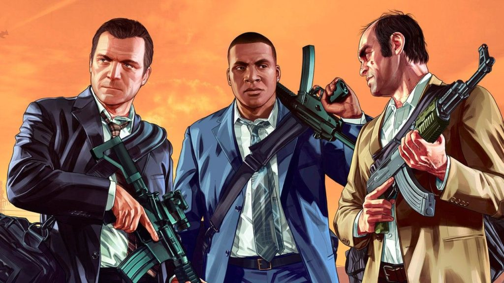 GTA 5 Michael Vs Franklin Vs Trevor 1024x576