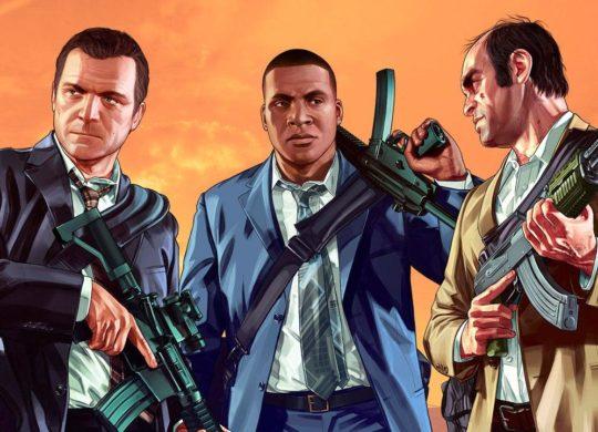 GTA 5 Michael vs Franklin vs Trevor
