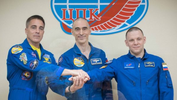 ISS Astronautes 600x339