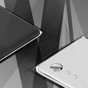 Image article LG : un téléphone aux bords incurvés, avec un appareil photo Raindrop