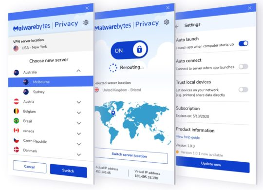 Malwarebytes Privacy VPN