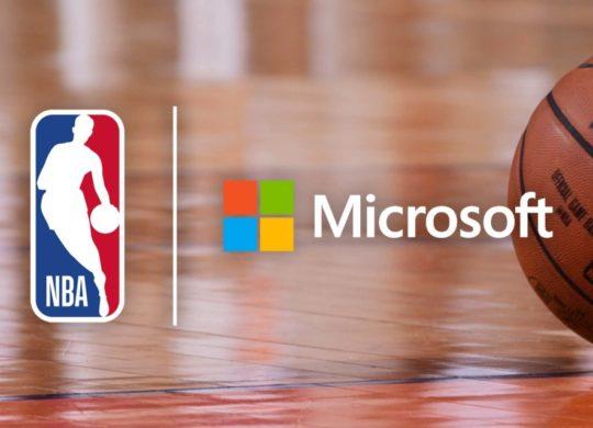 Microsoft NBA Logos