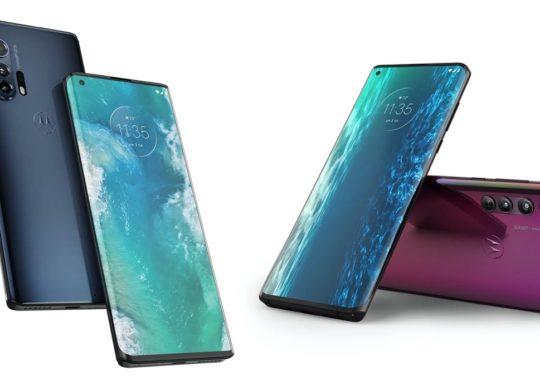Motorola Edge Plus Avant Arriere
