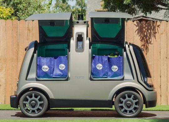 Nuro vehicule autonome de livraison
