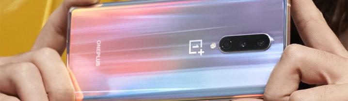 OnePlus 8 Arriere Brillant
