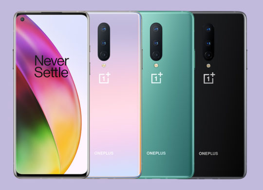 OnePlus 8 Officiel Avant Arriere Coloris