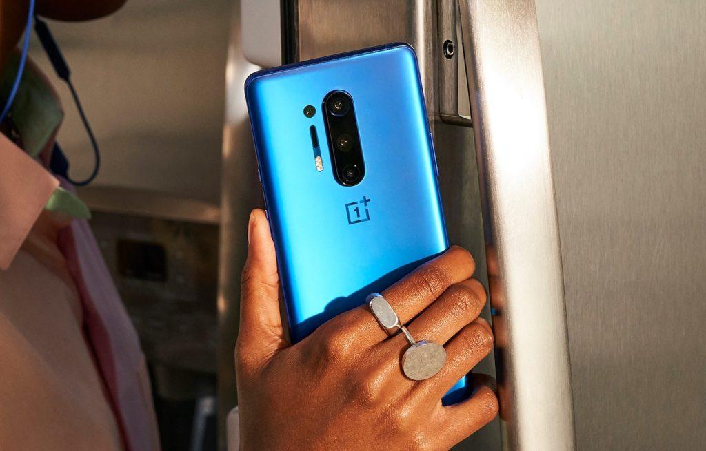 OnePlus 8 Pro Bleu Arrière
