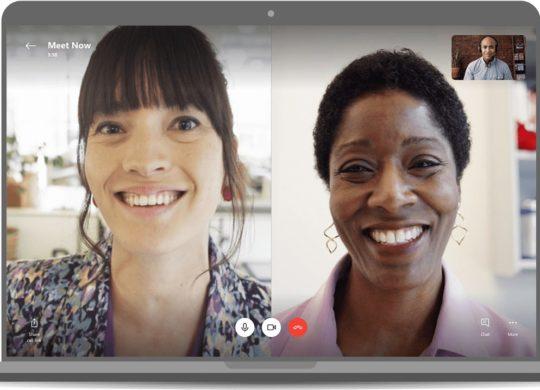 Skype Reunion Video