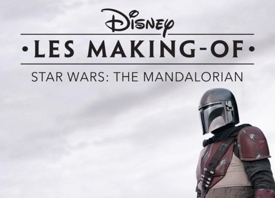 The Mandalorian Making-Of Recadre