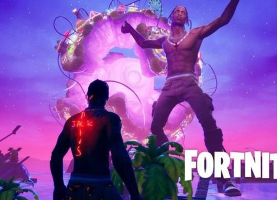 Travis Scott concert Fortnite 7