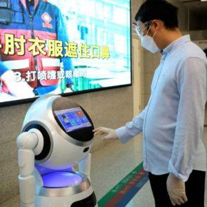 Image article Les robots d'UBTECH Robotics peuvent détecter les premiers symptômes du COVID