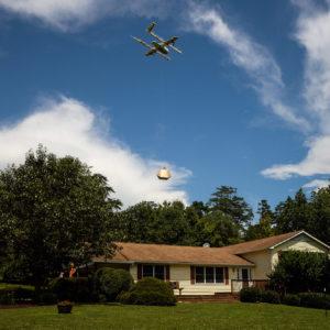 Image article Les drones de livraison d'Alphabet connaissent un gros succès