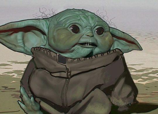 Baby Yoda concept