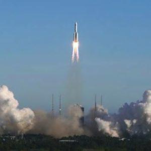 La Chine lance une capsule en orbite pour son futur projet de station spatiale