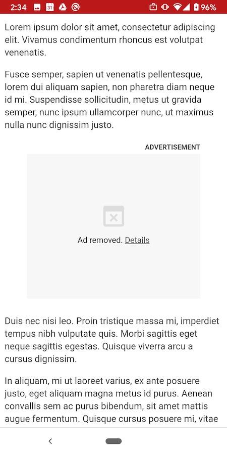 Chrome Bloque Lourde Publicite