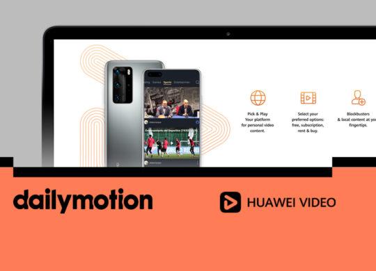 Dailymotion et Huawei