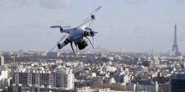 Drone Survol Paris 600x300