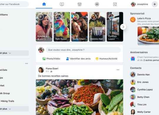 Facebook Nouvelle Interface 2020 Français