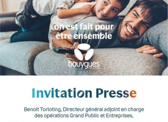 Invitation Bouygues 28 Mai 2020
