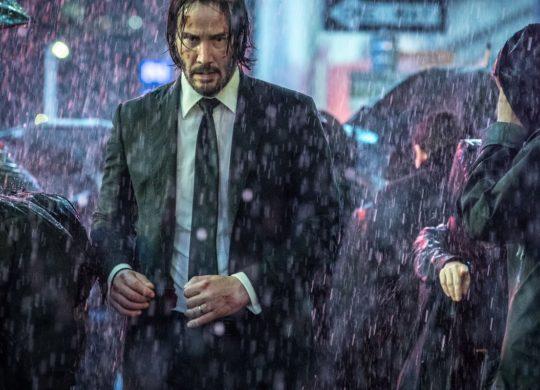 John Wick 3 Pluie Keanu Reeves