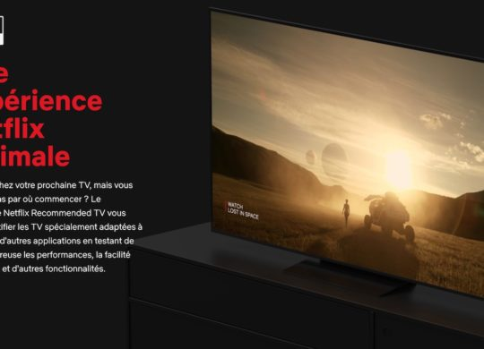 Netflix Television Experience Optimale