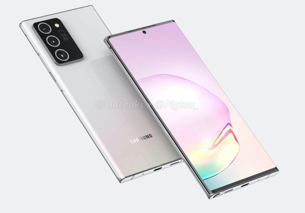Rendu Galaxy Note 20 Plus 1024x717