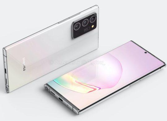 Rendu Galaxy Note 20 Plus 3