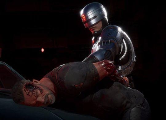 Robocop Terminator Mortal Kombat 11