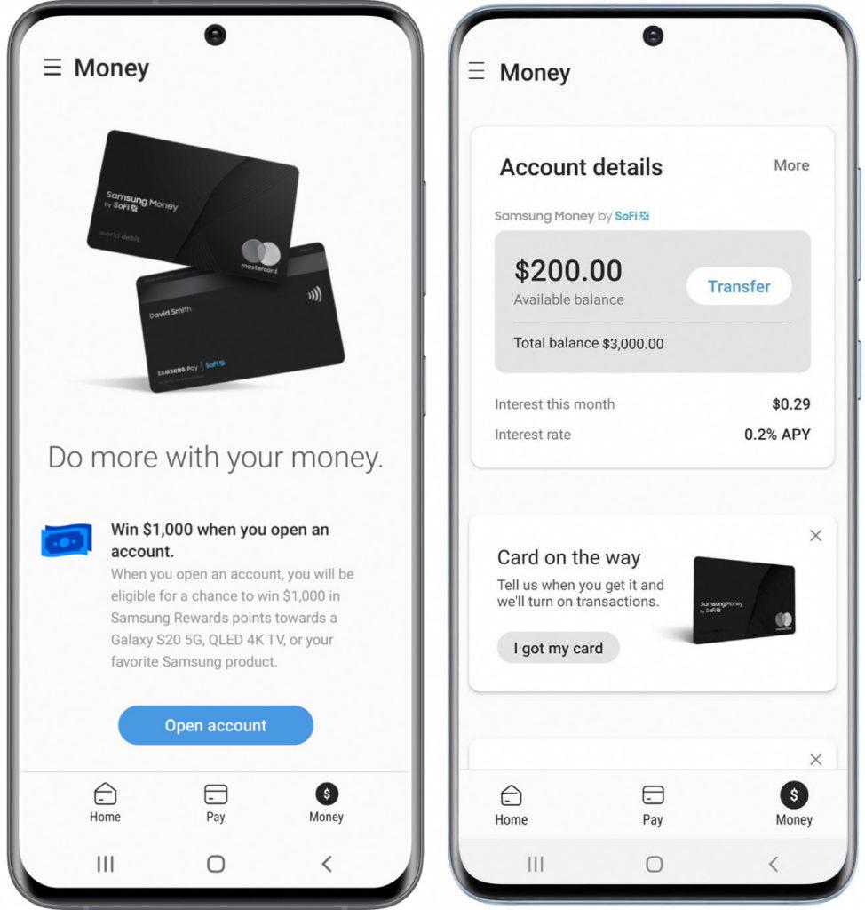 Samsung Money Application 974x1024