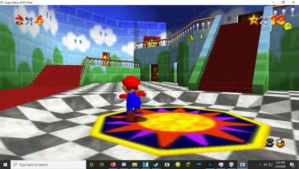 Super Mario 64 Portage PC 1024x578