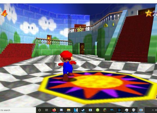 Super Mario 64 Portage PC