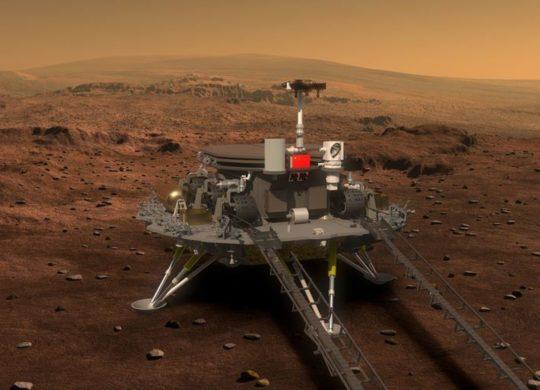 Tianwen rover Mars chine