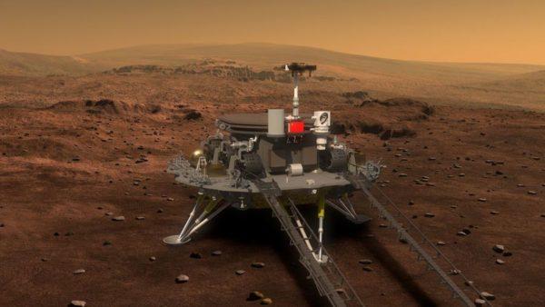 Tianwen Rover Mars Chine 600x338