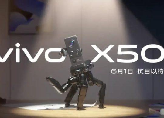 Vivo X50 teaser