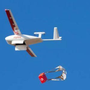 Image article USA : Des drones Zipline livrent des ressources médicales