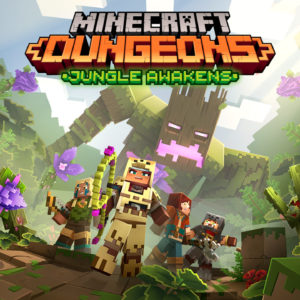 Image article Minecraft Dungeons : un premier DLC, Jungle Awakens, prévu pour juillet
