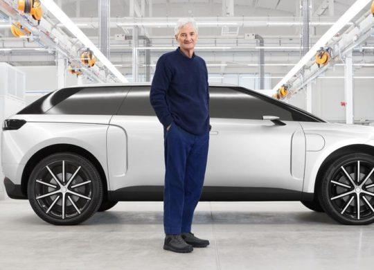 dyson voiture électrique
