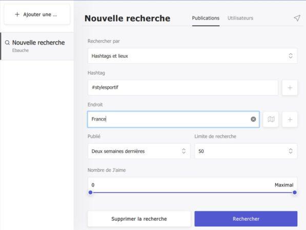 Recherche Hashtags Et Lieux 597x450