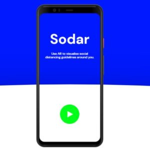 Image article Sodar, la solution AR de Google pour respecter la distanciation sociale
